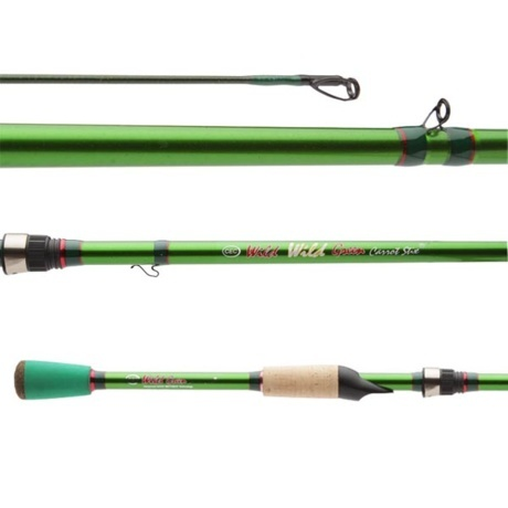 Carrot stix wild wild green pro for Green fishing rod