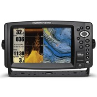 humminbird 959ci hd di internal gps combo - down imaging