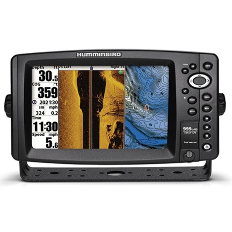 humminbird 999ci hd si internal gps combo - side imaging