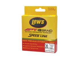 lews apt speed line apt - 8 braid