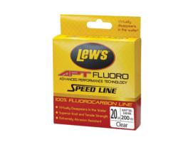 lews apt speed line apt fluorocarbon