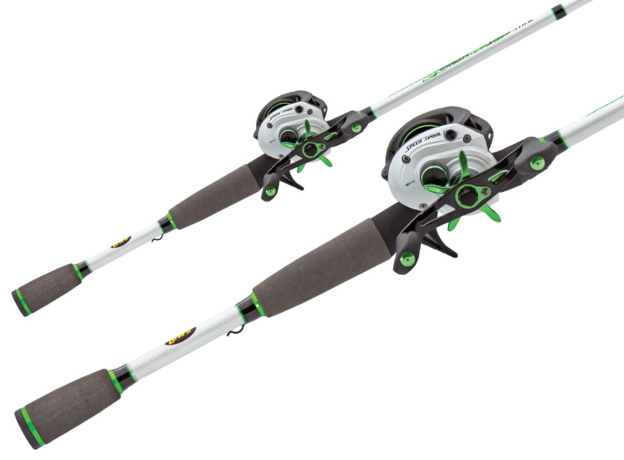 Lew 39 s mach 1 speed spool baitcast combo for Cool fishing poles
