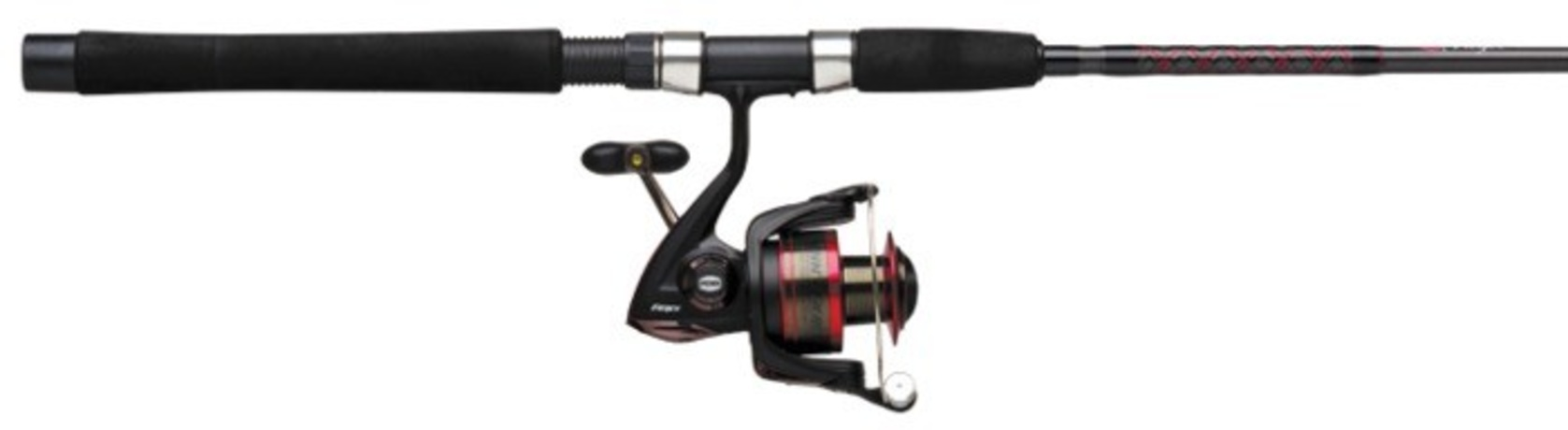 Penn pursuit ii spinning combo for Best fishing rod and reel combo for the money