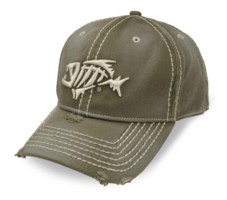 g loomis aflex cap distressed thick stitching