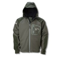 g loomis softshell hooded jacket