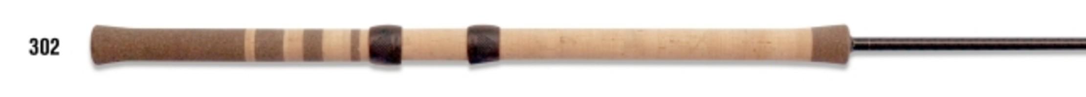 g loomis center pin conventional salmon  steelhead rod