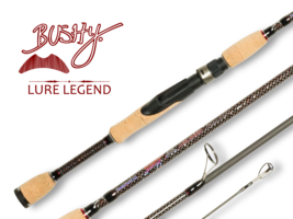 shimano bushy legend lure series spinning rod