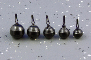 ultra tungsten drop shot weight - round